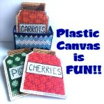 Plastic Canvas Kits - Fun for Kids and Adults